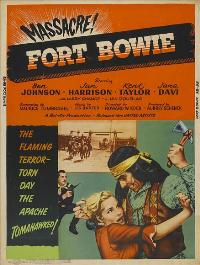Fort Bowie - 11 x 17 Movie Poster - Style A