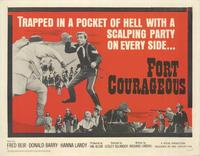 Fort Courageous - 11 x 14 Movie Poster - Style A