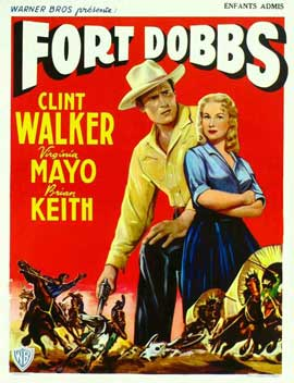 Fort Dobbs - 11 x 17 Movie Poster - Belgian Style A