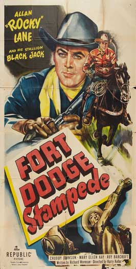 Fort Dodge Stampede - 11 x 17 Movie Poster - Style A