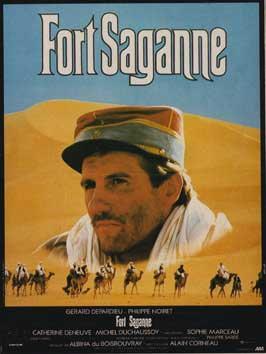 Fort Saganne - 11 x 17 Movie Poster - French Style A