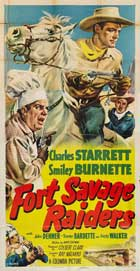 Fort Savage Raiders - 11 x 17 Movie Poster - Style B