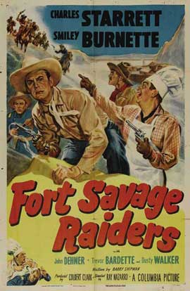Fort Savage Raiders - 27 x 40 Movie Poster - Style A