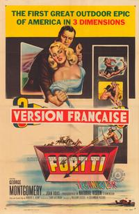 Fort Ti - 43 x 62 Movie Poster - Bus Shelter Style A