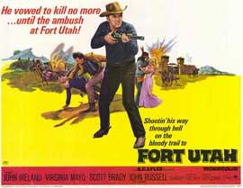 Fort Utah - 11 x 14 Movie Poster - Style A