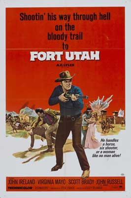 Fort Utah - 27 x 40 Movie Poster - Style B