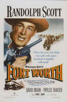 Fort Worth - 11 x 17 Movie Poster - Style A