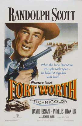 Fort Worth - 27 x 40 Movie Poster - Style A