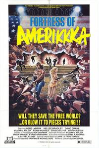 Fortress of Amerikkka - 11 x 17 Movie Poster - Style B