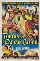 Fortunes of Captain Blood - 27 x 40 Movie Poster - Style A