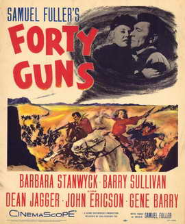 Forty Guns - 11 x 17 Movie Poster - Style A