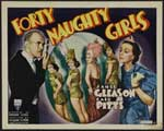 Forty Naughty Girls - 27 x 40 Movie Poster - Style A