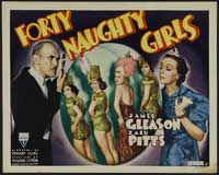 Forty Naughty Girls - 11 x 17 Movie Poster - Style A