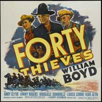 Forty Thieves - 40 x 40 - Movie Poster - Style A