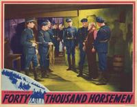 Forty Thousand Horsemen - 11 x 14 Movie Poster - Style B