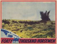 Forty Thousand Horsemen - 11 x 14 Movie Poster - Style C
