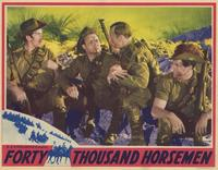 Forty Thousand Horsemen - 11 x 14 Movie Poster - Style F