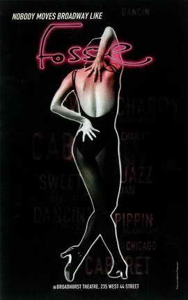 Fosse (Broadway) - 11 x 17 Poster - Style B