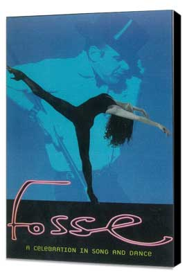 Fosse (Broadway) - 11 x 17 Poster - Style A - Museum Wrapped Canvas