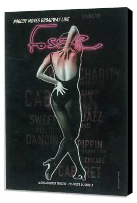 Fosse (Broadway) - 11 x 17 Poster - Style B - Museum Wrapped Canvas