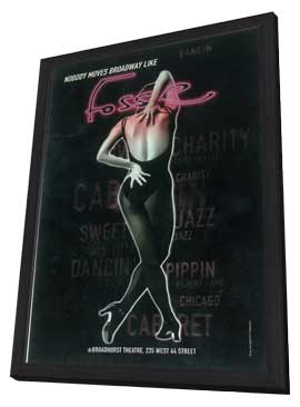 Fosse (Broadway) - 11 x 17 Poster - Style B - in Deluxe Wood Frame