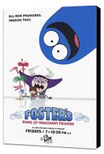 Foster's Home for Imaginary Friends - 11 x 17 TV Poster - Style B - Museum Wrapped Canvas