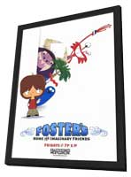 Foster's Home for Imaginary Friends - 27 x 40 TV Poster - Style A - in Deluxe Wood Frame