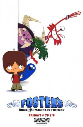 Foster's Home for Imaginary Friends - 11 x 17 TV Poster - Style A