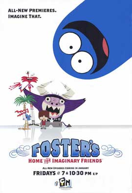 Foster's Home for Imaginary Friends - 11 x 17 TV Poster - Style B