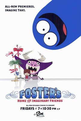 Foster's Home for Imaginary Friends - 27 x 40 TV Poster - Style B
