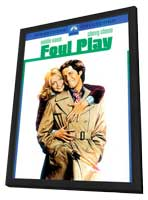 Foul Play - 11 x 17 Movie Poster - Style C - in Deluxe Wood Frame