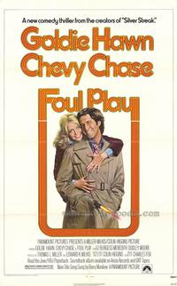 Foul Play - 43 x 62 Movie Poster - Bus Shelter Style A
