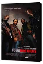 Four Brothers - 27 x 40 Movie Poster - Style B - Museum Wrapped Canvas