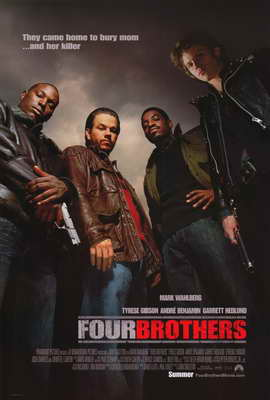 Four Brothers - 11 x 17 Movie Poster - Style A
