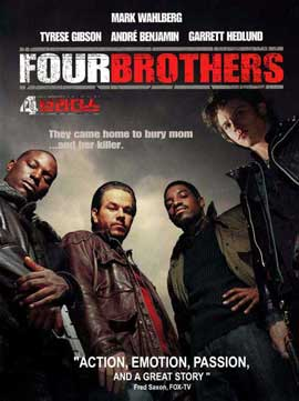 Four Brothers - 11 x 17 Movie Poster - Korean Style A