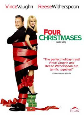Four Christmases - 27 x 40 Movie Poster - Canadian Style A