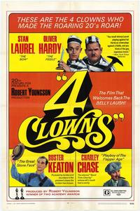 Four Clowns - 11 x 17 Movie Poster - Style A