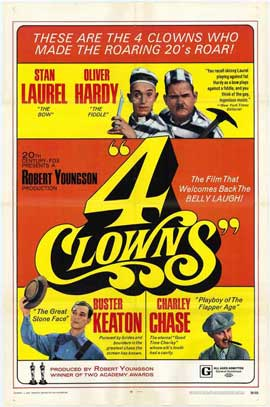 Four Clowns - 27 x 40 Movie Poster - Style A