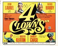 Four Clowns - 11 x 17 Movie Poster - Style B