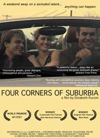 Four Corners of Suburbia - 11 x 17 Movie Poster - Style A