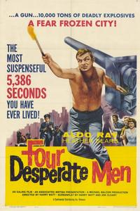 Four Desperate Men - 11 x 17 Movie Poster - Style A