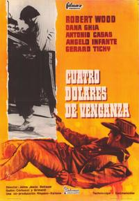 Four Dollars for Vengeance - 11 x 17 Movie Poster - Spanish Style A