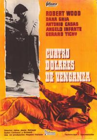 Four Dollars for Vengeance - 43 x 62 Poster - Foreign - Bus Shelter Style A