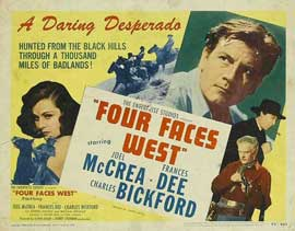 Four Faces West - 11 x 14 Movie Poster - Style A