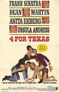 Four for Texas - 11 x 17 Movie Poster - Style A
