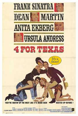 Four for Texas - 27 x 40 Movie Poster - Style A