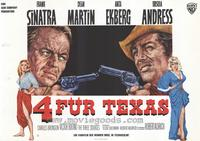 Four for Texas - 11 x 14 Poster German Style A