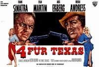 Four for Texas - 27 x 40 Movie Poster - German Style A