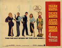 Four for Texas - 22 x 28 Movie Poster - Half Sheet Style A