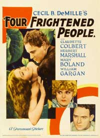 Four Frightened People - 27 x 40 Movie Poster - Style A